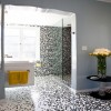 creative-bathroom-with-nice-looking-mosaic-glass-bathroom-tile-ideas